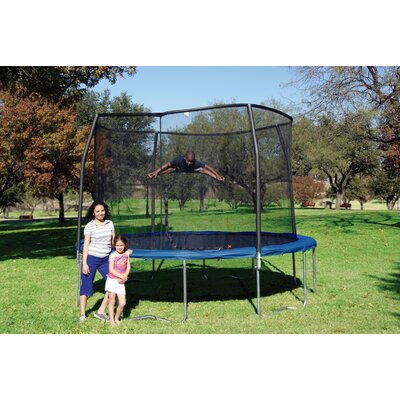 Bazoongi Kids Orbounder 12' Trampoline with Enclosure