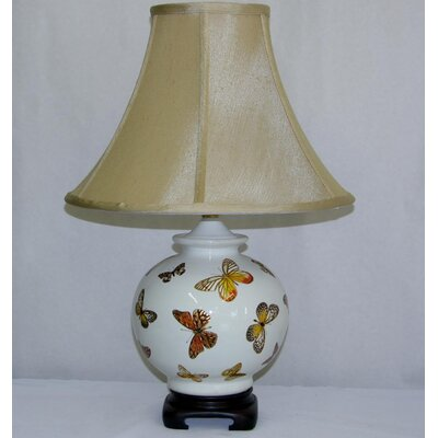 Lamp Factory Foil Butterflies Table Lamp
