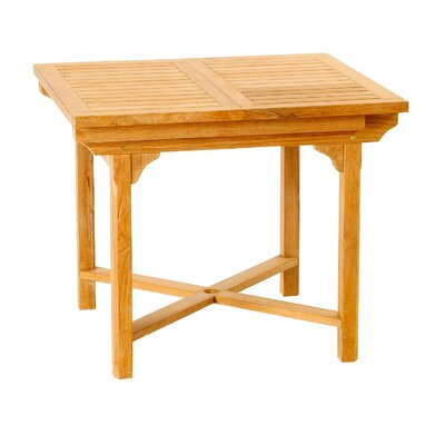 Les Jardins Teak Patiotek Balcony Extension Table