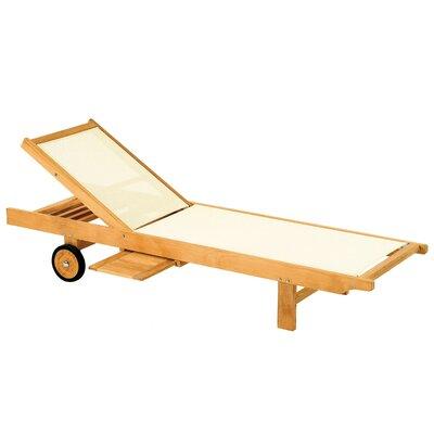 Teak Azur II Chaise Lounge