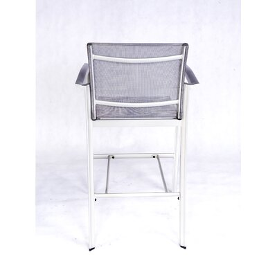 Les Jardins Out of Blue Elysun Barstool with Armrest