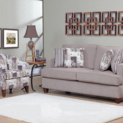 Verona Furniture Lois Sofa and Chair Set