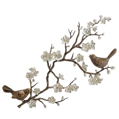 SPI Home Birds and Blossom Wall Décor