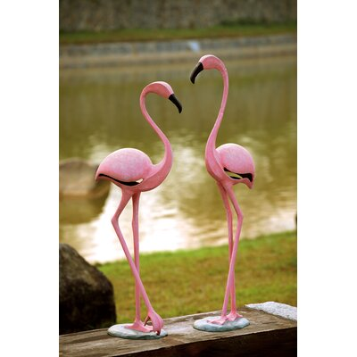 SPI Home Flamingo Pair Statue