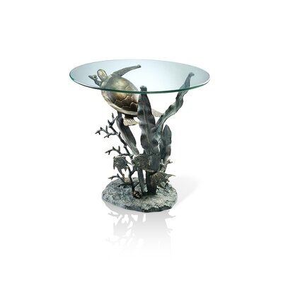 SPI Home Sea Turtle End Table