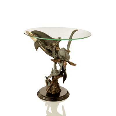 SPI Home Art Sealife End Table