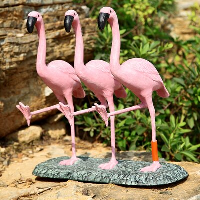 SPI Home Flamingo Chorus Line Statue