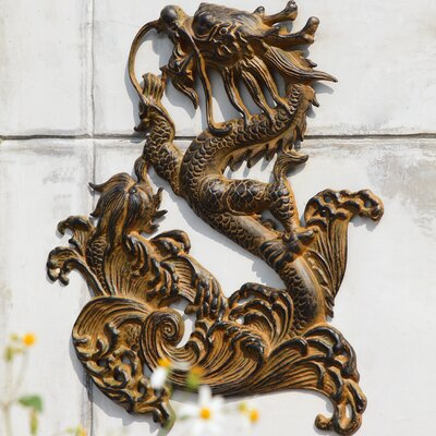 SPI Home Dragon Wall Plaque