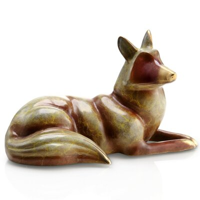 SPI Home Resting Fox Figurine