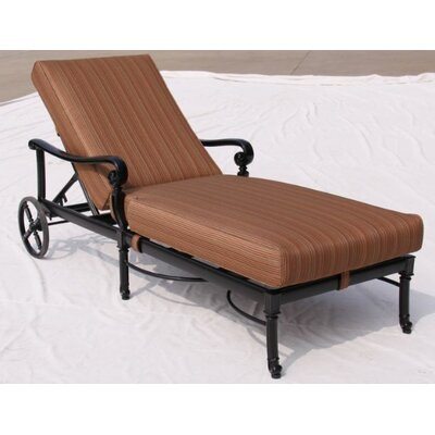 Paragon Casual Edina Chaise Lounge with Cushion