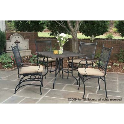 "Paragon Casual Caledonia Mesh 36"" Square Table"