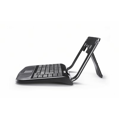 2COOL Trendy Stand with Keyboard for Laptops and Notebooks in Black