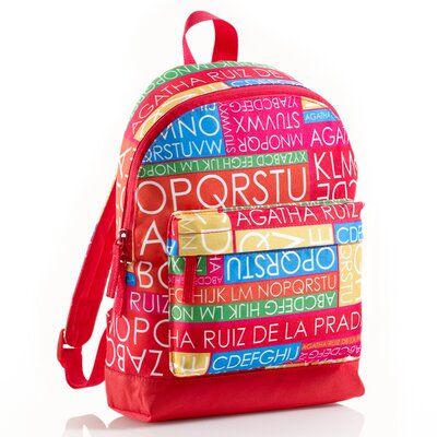 Miquelrius Agatha Ruiz De La Prada Word Search Backpack