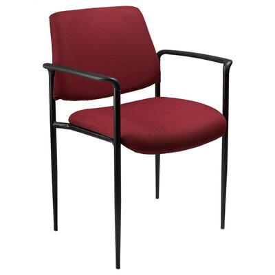 Boss Office Products Stackable Chair with Tapered Legs