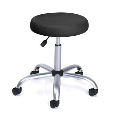 Boss Office Products Height Adjustable Doctor's Stool with Casters