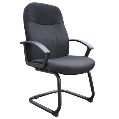 Boss Office Products Executive Guest Chair with Loop Arms