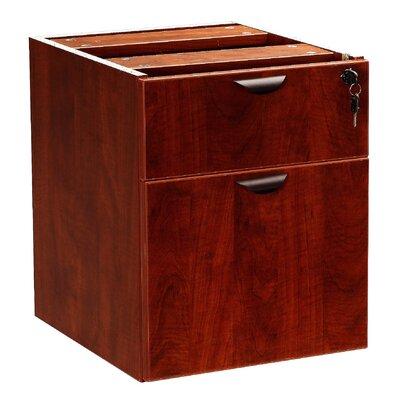 "Boss Office Products Case Goods 19"" H x 16"" W Desk Pedestal"