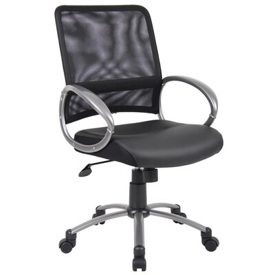 Boss Office Products Mid-Back Mesh Task Chair