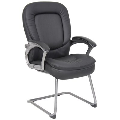 Boss Office Products Guest Chair with Padded Armrests