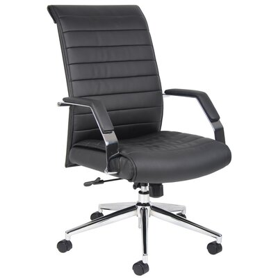 Boss Office Products High-Back Executive Chair with Arms