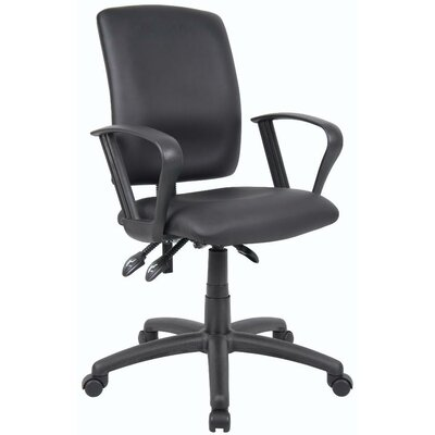 Boss Office Products Budget High-Back Task Chair without Arms