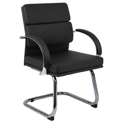 Boss Office Products Guest Chair with Padded Arm Rests