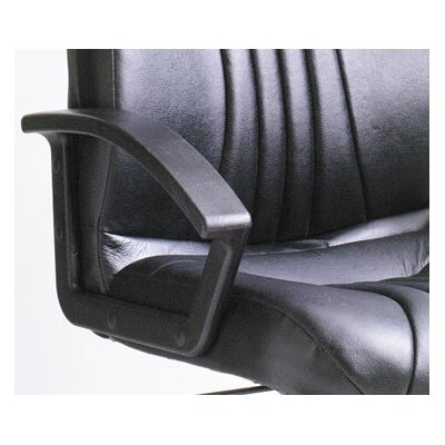 Boss Office Products Modern High-Back Leather Executive Chair