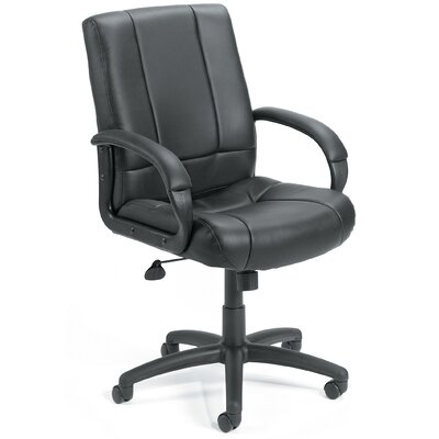 Boss Office Products Mid-Back Caressoft Executive Chair