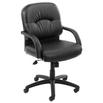 Boss Office Products Mid-Back Caressoft Managerial Chair