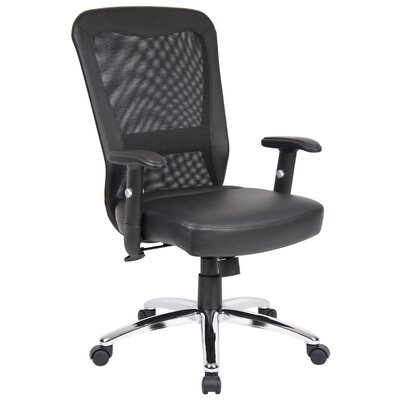 Boss Office Products High-Back Office Chair with Arms