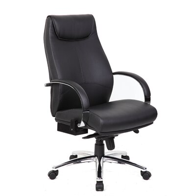 Boss Office Products High-Back Heated Office Chair with Arm Rests