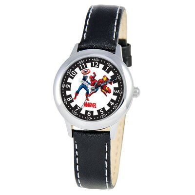Kid's Heroes Time Teacher Watch in Black