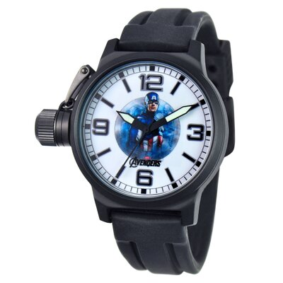 Marvel Men's Captain America Crown Protector Watch