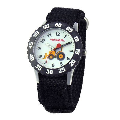 Boy's Construction Site Kid's Time Teacher Watch