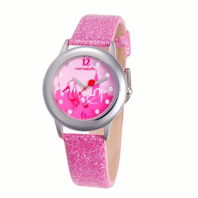 Girl's London Shopping Tween Glitz Watch