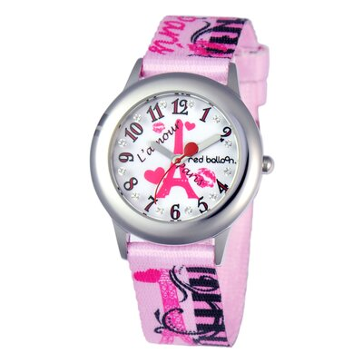 Girl's Paris L 'Amour Tween Glitz Watch