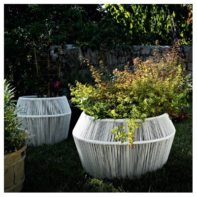 Varaschin Loop Planter in White