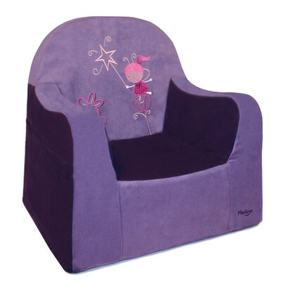 Playful Embroidery Fairy Kids Club Chair