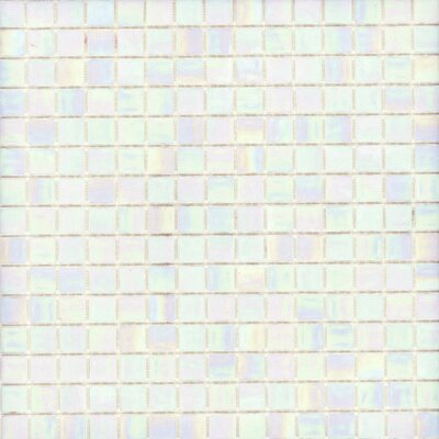 "Surfaces Elida Glass 13"" x 13"" Mosaic in Pearl"