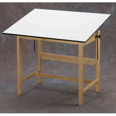 Alvin and Co. Titan Melamine Drafting Table with Drawer