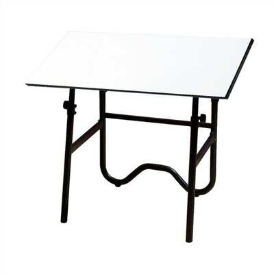 Alvin and Co. Onyx Melamine Drafting Table