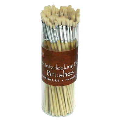 Alvin and Co. Bristle Brush Assortment