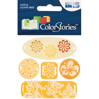 Alvin and Co. Colorstories 3D Charms (Set of 6)