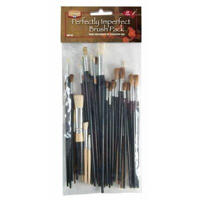 Alvin and Co. Imperfect Brush Pack (Set of 42)