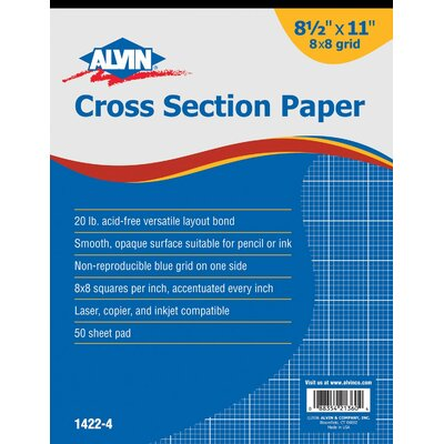 Alvin and Co. Cross Section Paper Grid Pad