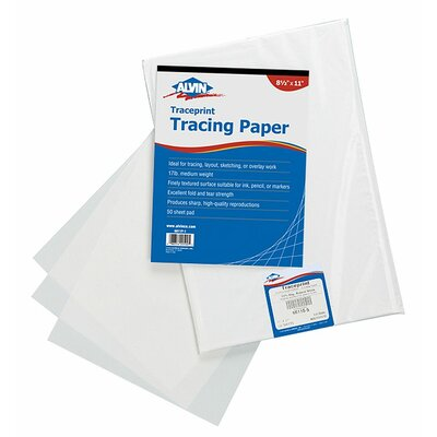 Alvin and Co. Tracing Paper Pad