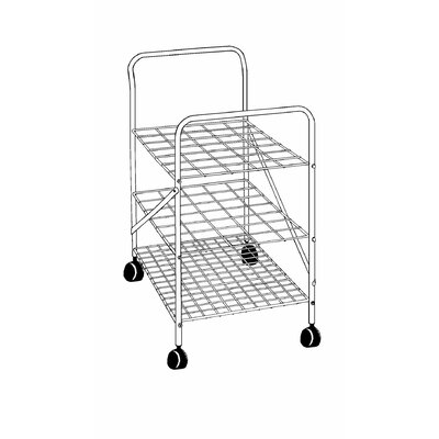 "Alvin and Co. 28"" Roll File Cart"