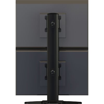 Crimson AV Dual Vertically Aligned Monitor Desktop Stand