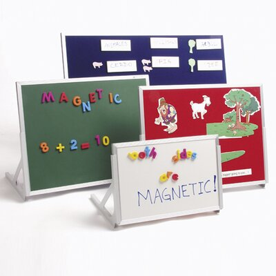 Best-Rite® Magnetic Marker/Chalkboard Language Easel