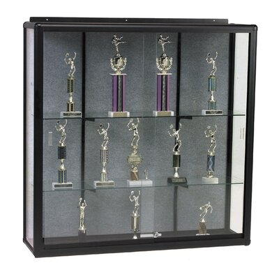 Best-Rite® Series 90 Elite Wall Mount Display Case
